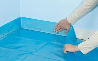 Укладка ламината на бетонный пол