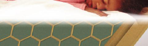Сотовая поверхность тыльной стороны ламината