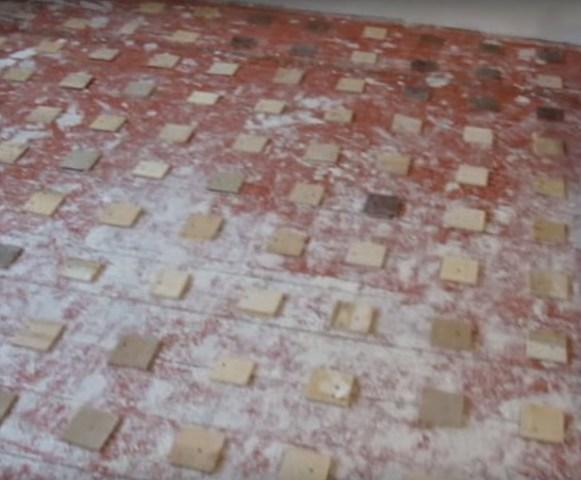 Прикрученные подкладки по фанеру