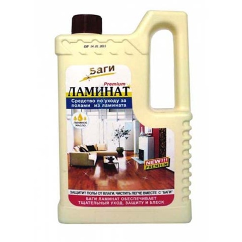 Средства для мытья ламината